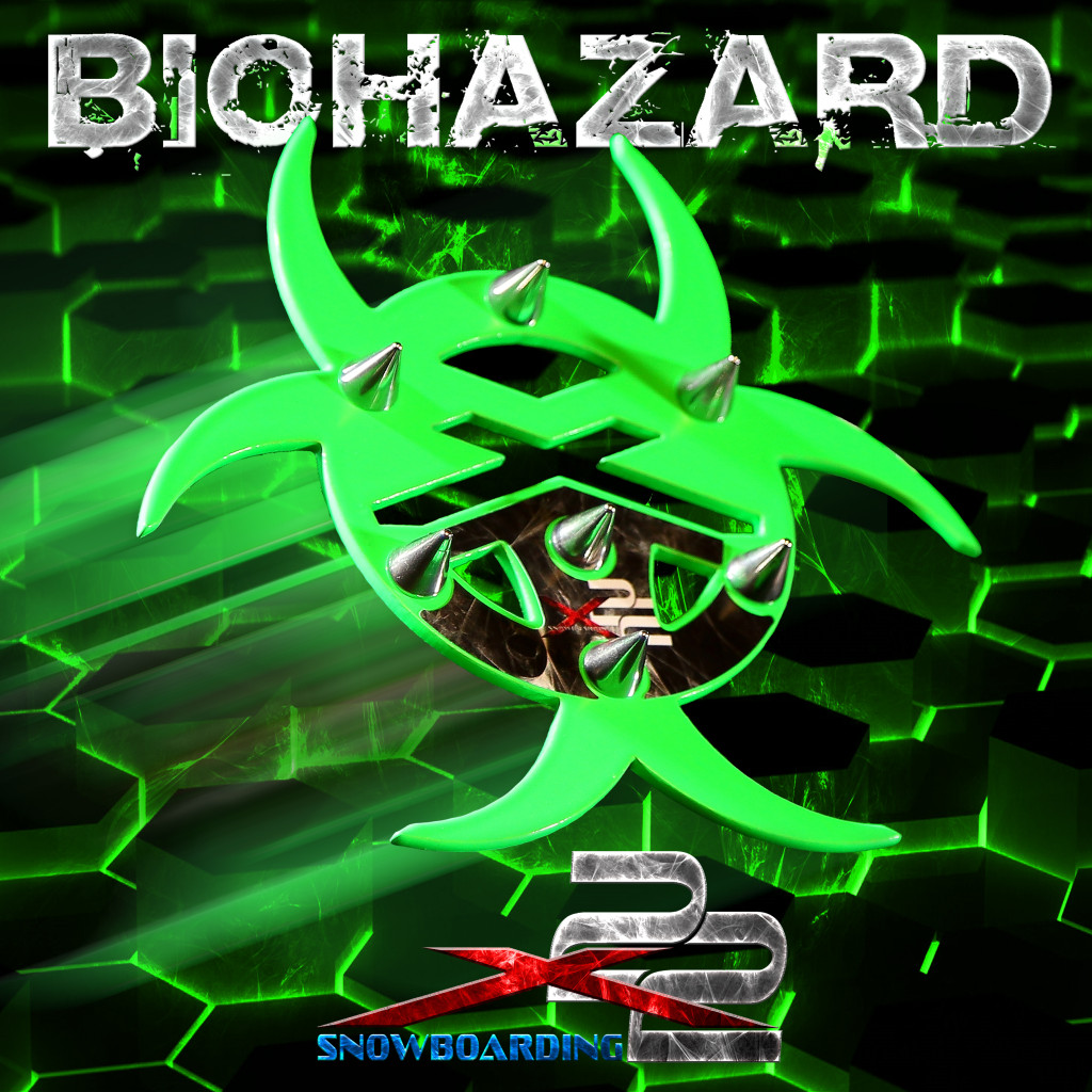 biohazardstomppadspikes1 X22 Snowboarding Spike Pad